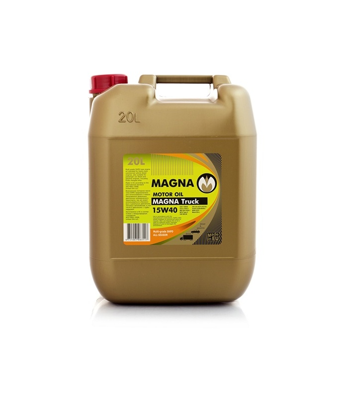 Magna truck 15w40 united oils for Which motor oil is thicker