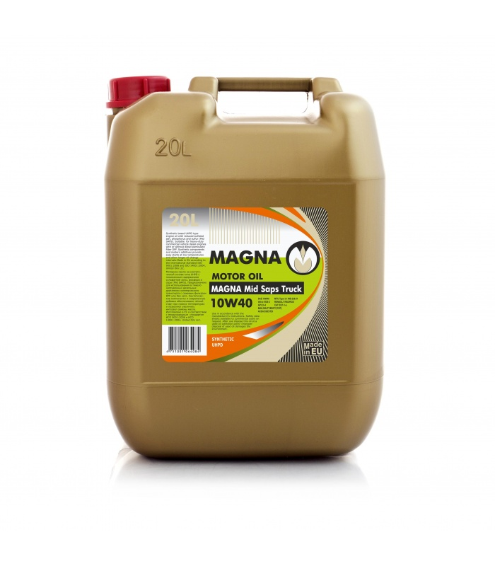 Magna mid saps truck 10w40 united oils for Which motor oil is thicker