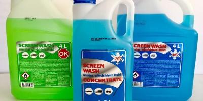Стеклоомывающие жидкости Screenwash liquids